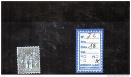 FRANCE   N° 72   OBLITERE - 1876-1878 Sage (Type I)