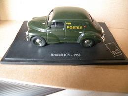 RENAULT 4CV - 1950 LA POSTE  Modèle Réduit à 1/43e émis Par Le Musée De La Poste - Carros