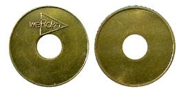 01705 GETTONE TOKEN JETON FICHa ADVERTISING MACHINE WE ROKA - Allemagne