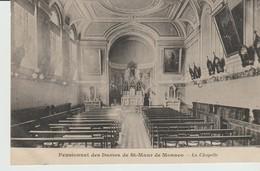 CPA - PENSIONNAT DES DAMES DE ST MAUR DE MONACO - LA CHAPELLE - J. DAVID - Other