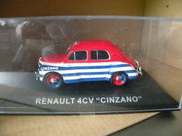RENAULT 4CV - CINZANO  Modèle Réduit à 1/43e - Other