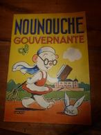 1953 NOUNOUCHE  Gouvernante,   Texte Et Dessins De DURST - Books, Magazines, Comics