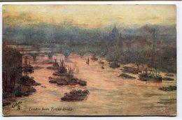 CPA - Carte Postale - Royaume-Uni - London From Tower Bridge - 1907 (CP2198) - London
