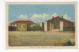COLLINGWOOD, Ontario, Canada, Exhibition Park, Old WB PECO Postcard, Simcoe County - Ontario