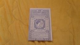 L'ALMANACH - HACHETTE SUPPLEMENT GRATUIT DE 1905. / AVEC 21 BILLETS DE THEATRE + 3 BONS D'ACHATS.. - Unclassified