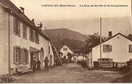 LEPUIX GY La Rue Droite Et La Coopérative - Other Municipalities
