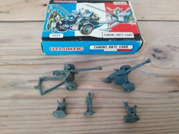 Figurines/ ATLANTIC / CANONS ANTE CHAR / 5 Pièces + Boîte D'origine - Années 70 - Army