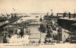 Antofagasta, Muelles Y Bahia, W.Paton - Chile