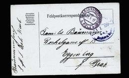 A5414) Österreich Karte Marine-Schiffspost POLA 21.1.17 SMS Erh. Karl - 1850-1918 Imperium