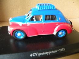 RENAULT 4CV - PROTOTYPE TAXI 1953 Modèle Réduit à 1/43e - Voitures, Camions, Bus