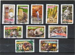 FRANCE   Série Complète 10 Timbres 0,53 €    2005   Y&T: 3767 à 3776   Oblitérés - France