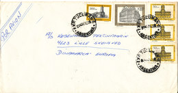 Argentina Cover Sent Air Mail To Denmark Tucuman 8-11-1979 - Unclassified