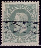 Belgium, 1869-70, King Leopold II, 10c, Sc#32, Used - 1869-1883 Leopold II