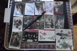 Cp  1er Avril Gros Lot 30 Cartes Fantaisie Toutes Differentes - April Fool's Day