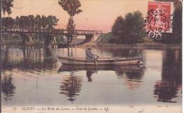 CPA - 15. OLIVET Les Bords De Loire, Pont De Lorette - France