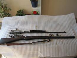 FUSIL BERTHIER 07/15 NEUTRALISE - Decorative Weapons