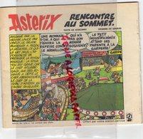 ELF ASTERIX- BD - RENCONTRE AU SOMMET- LE COMBAT DES CHEFS-UDERZO GOSCINY- - Zeitschriften & Magazine