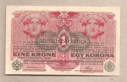 Austria - Banconota Non Circolata FdS Da 1 Corona P-49 - 1919 - Austria