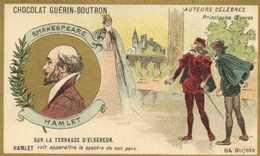 CHOCOLAT GUERIN BOUTRON  Auteurs Celebres SHAKESPEARE  HAMLET  RV - Guérin-Boutron