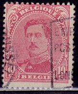 Belgium, 1915-20, King Albert I, 10c, Sc#112, Used - 1915-1920 Albert I