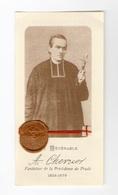 Relique Père Antoine Chevrier, Fondateur De La Providence Du Prado, Lyon, étoffe Non Précisée - Images Religieuses
