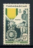 MADAGASCAR 1952 N° 321 ** Neuf MNH Superbe Cote 5,40 € Médaille Militaire - Ongebruikt