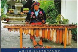 Cp Guatemala, Chichicastenango, Xylophone - Guatemala