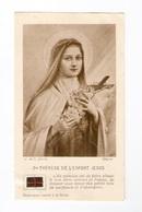 Relique Sainte Thérèse De L'Enfant Jésus, Lisieux, étoffe Ayant Touché à La Sainte - Imágenes Religiosas