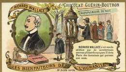 CHOCOLAT GUERIN BOUTRON    LES BIENFAITEURS DE L'HUMANITE RICHARD WALLACE     RV - Guérin-Boutron