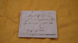 LETTRE ANCIENNE DU 13 GERMINAL AN 9. (1801). / MARQUE 33 LUNEL + TAXE. / LUNEL A AGDE. - Marcophilie (Lettres)