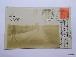 LAGOS-Route-Carte Photo 1907 - Nigeria