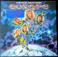 Epic 26808 - The Final Countdown Vinyle Europe - Hard Rock & Metal