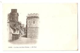 35 Vitré, Rue Et Tour D'Embas. Carte Précurseur (1427) - Vitre
