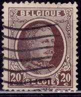 Belgium, 1922-27, King Albert, 20c, Sc#150, Used - Used Stamps