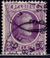 Belgium, 1922-27, King Albert, 25c, Sc#151, Used - Used Stamps