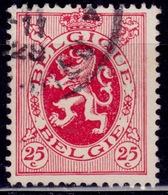 Belgium, 1929-32, Heraldic Lion, 25c, Sc#204, Used - 1929-1937 Heraldic Lion