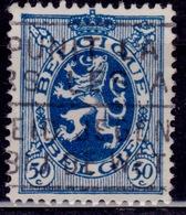 Belgium, 1929-32, Heraldic Lion, 50c, Sc#207, Used - 1929-1937 Heraldic Lion