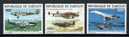 Djibouti 1979 PA N° 130 /132 ** Neufs MNH  Superbes  Cote 19,35 € Transports Avions Planes Concorde - Djibouti (1977-...)