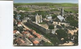 CPSM  GF - Ile De Noirmoutier : En Avion Au Dessus De ... Noirmoutier En L'Ile - Le Château Et L'Eglise  - Lapie N°3 - Ile De Noirmoutier