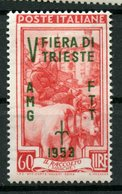 Trieste 1953 60i Sample Fair Issue  #180 - 7. Trieste