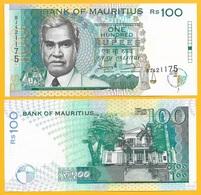 Mauritius 100 Rupees P-44 1998 UNC - Mauritius