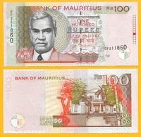 Mauritius 100 Rupees P-56e 2013 UNC - Maurice