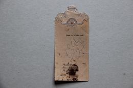 Menu De Première Communion, 1928 - Menus