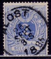 Belgium, 1881, Lying Lion, 2c, Sc#41, Used - 1869-1888 Lying Lion
