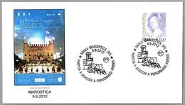AJEDREZ VIVIENTE - Partita A Scacchi A Personaggi Vivente - Chess. Marostica, Vicenza, 2012 - Schach