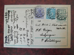 ALLEMAGNE GERMANY ENTIER POSTAL 1922 EMPIRE DEUTSCHES REICH CACHET 1922/5/22  AACHEN - Deutschland