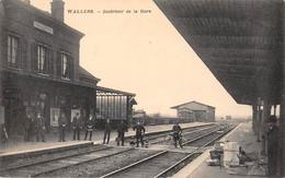 CPA 59 - WALLERS - Interieur De La Gare. - Altri Comuni