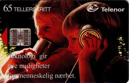 TARJETA TELEFONICA DE NORUEGA. N-43 (046) - Norway