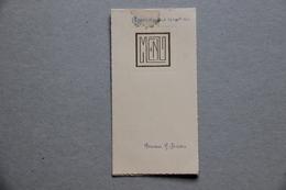 Menu Noces D'Argent 29 Septembre 1945 - Menus