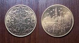 GERMANY TOKEN CHRISTMAS 1979 WEIHNACHTEN JETON GETTONE Metal Nickel Ø26,4mm - Other